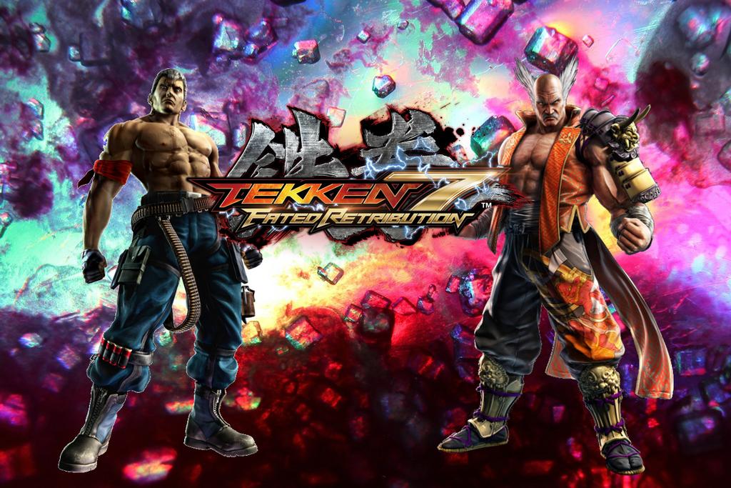 Tekken 7 Bryan vs Heihachi by Kyojiro87