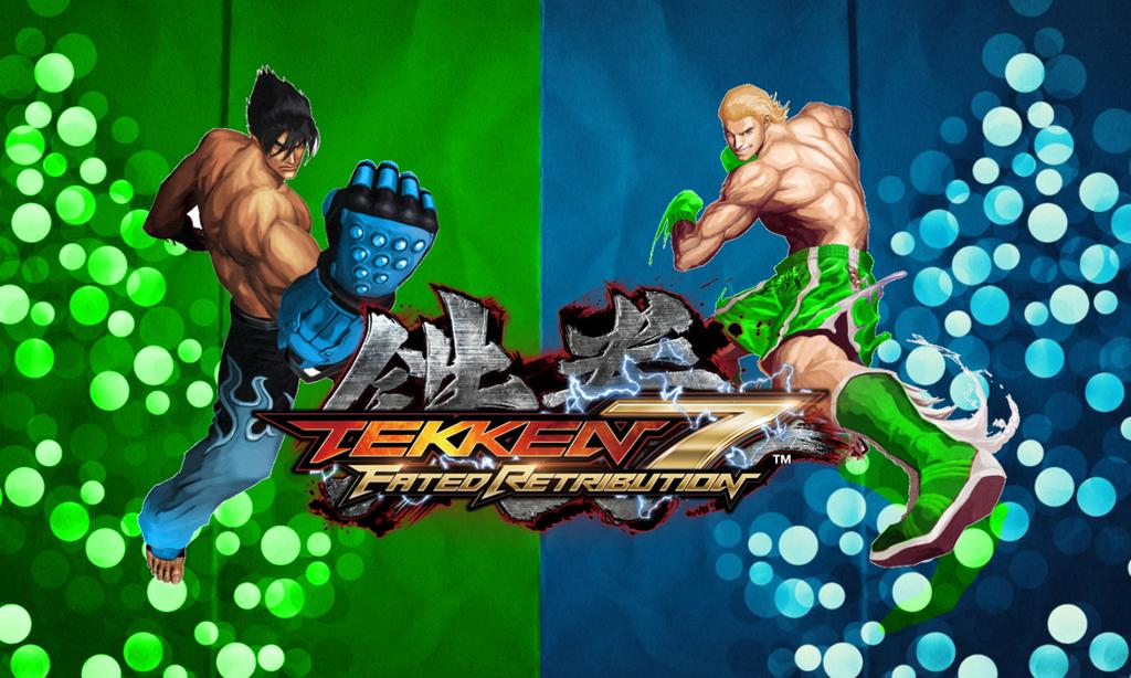 Tekken 7 Jin vs Steve by Kyojiro87