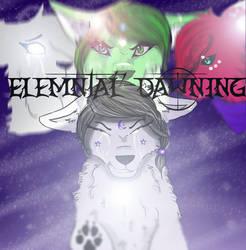 Elemental Dawning Comic Book Cover by QueenInWonderland