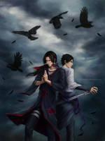Itachi and Sasuke Uchiha by Zetsuai89