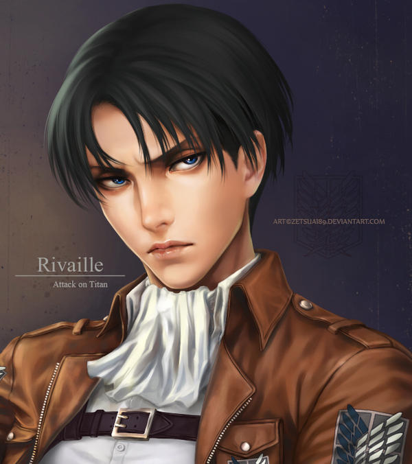LEVI _Attack on Titan by Zetsuai89