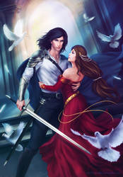 Lancelot and Guinevere by Zetsuai89
