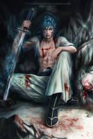 GRIMMJOW _  Seksta Espada _  BLEACH by Zetsuai89