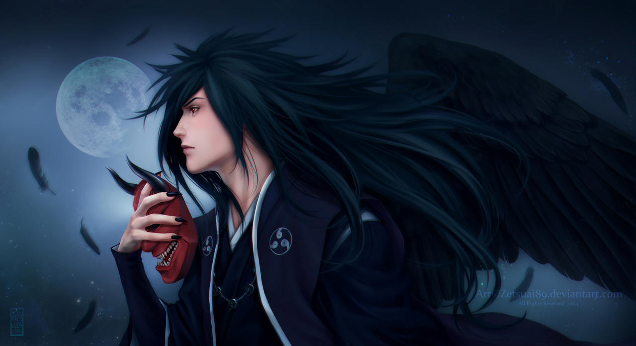 madara uchiha   wings of color the soul by zetsuai89 d7viukw