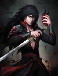 MADARA _  sword Susanoo by Zetsuai89