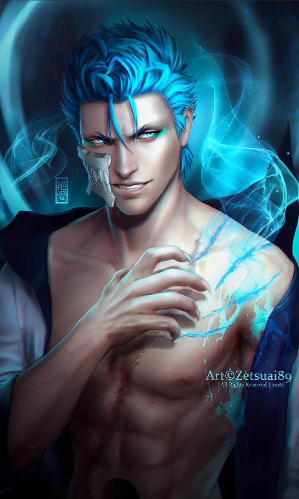 Grimmjow _BLEACH by Zetsuai89