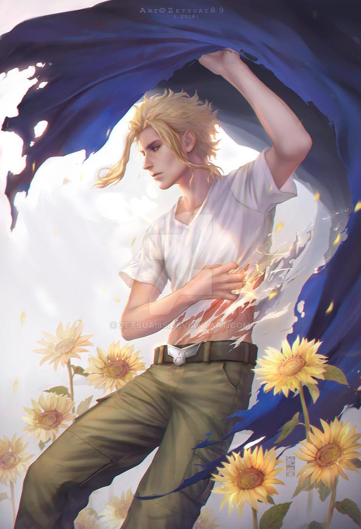 My Hero Academia_ AllMight _ Happy Birthday by Zetsuai89