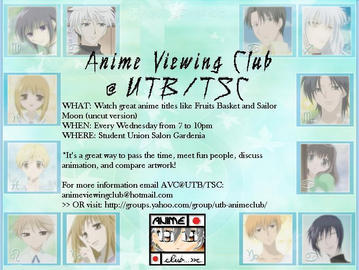 Anime Club Flyer by Neodiva2002 on DeviantArt