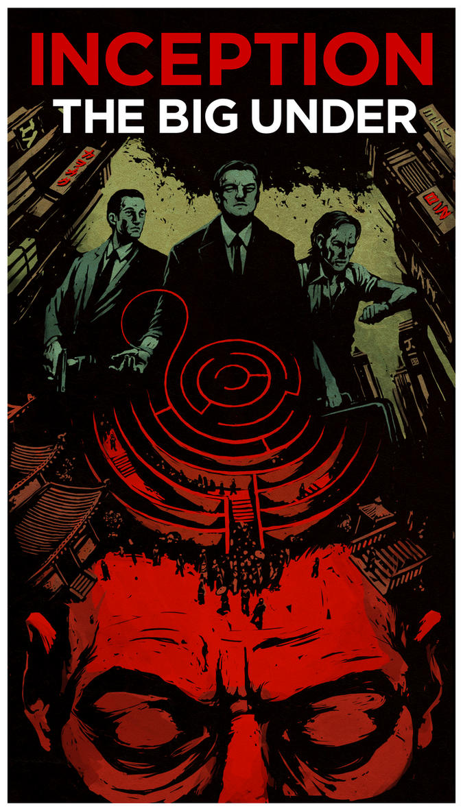 Inception Comic Cover by DenmanRooke