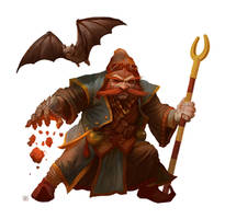 Cave Wizard by DenmanRooke