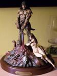 My repaint of Conan statue