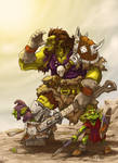 Orc and goblins