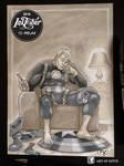 Inktober #15 Relax (Marvel Captain America)