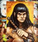 Conan sketch card