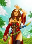 Warcraft, my warlock Melissia