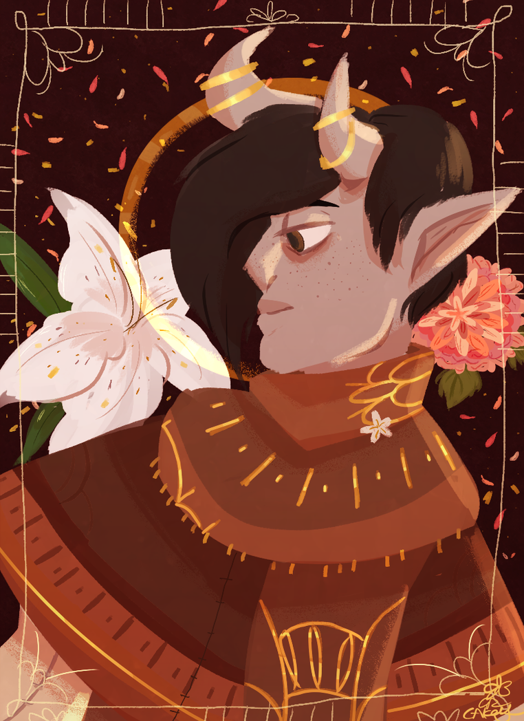 Dragon Age self insert by Cakeybots