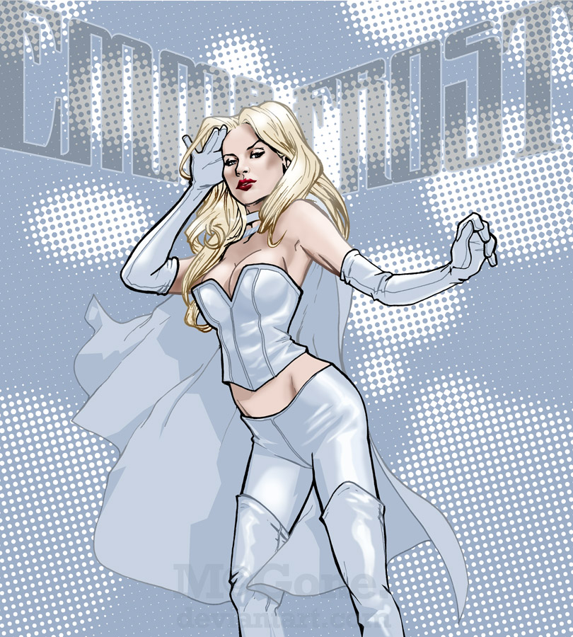 comics girls emma frost - photo #23