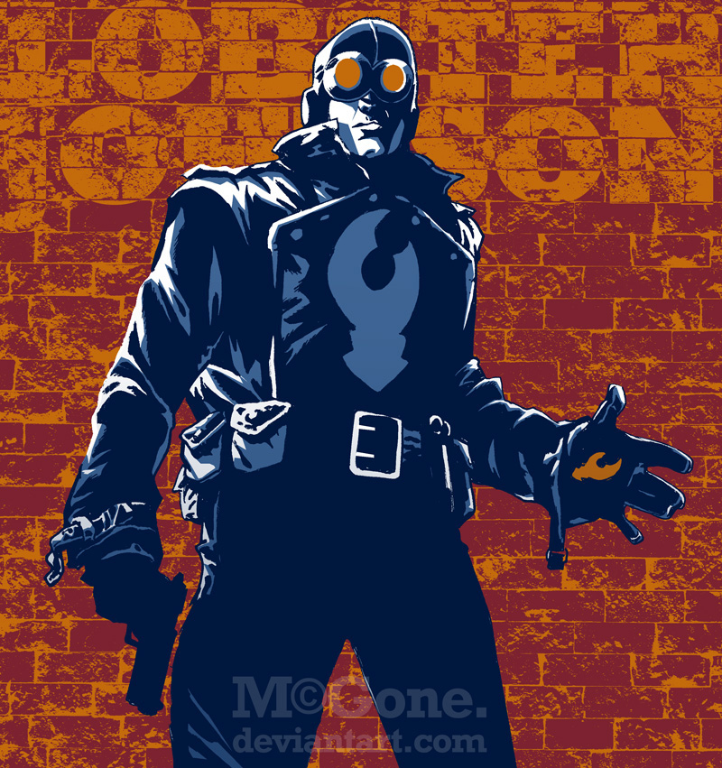 Lobster Johnson by mcguan