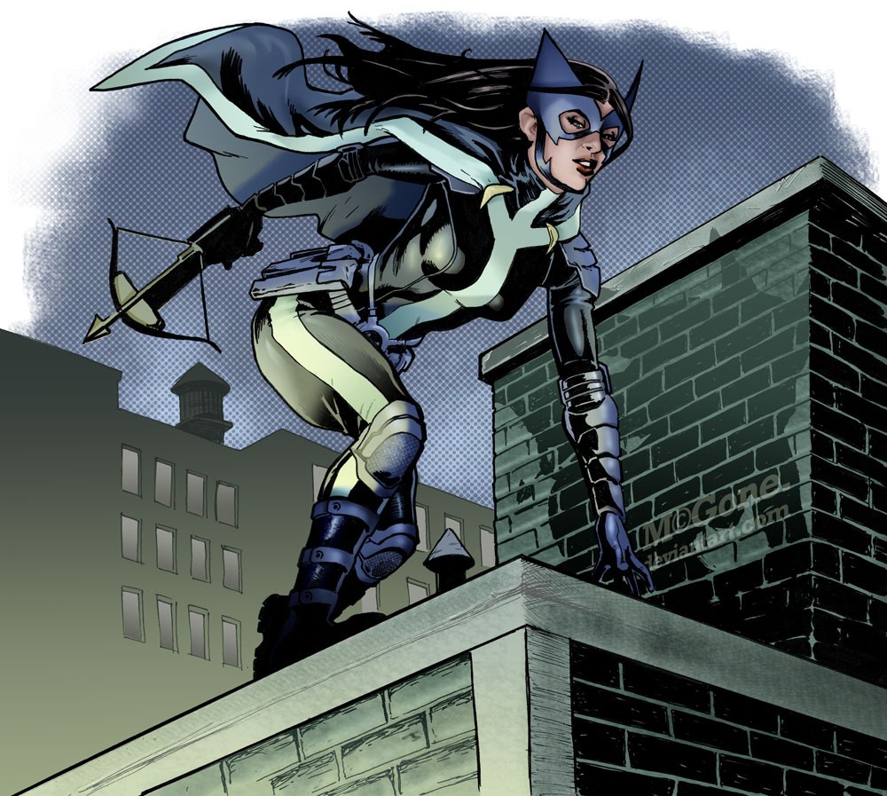 Huntress by mcguan
