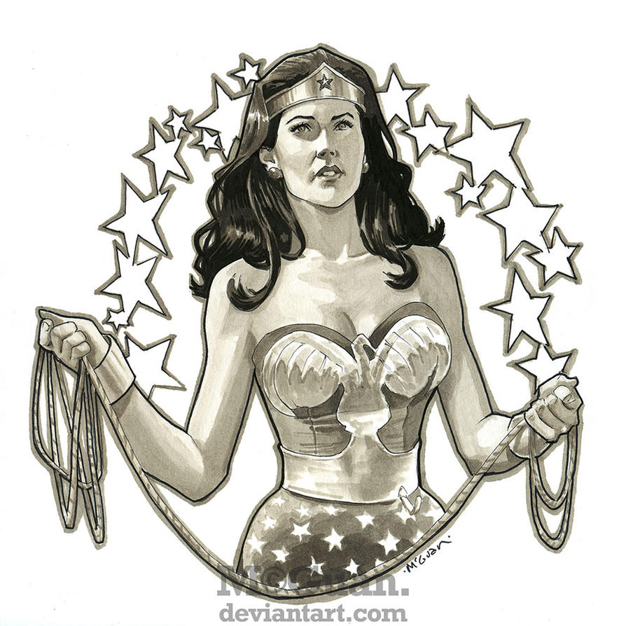 Wonder Carter by mcguan