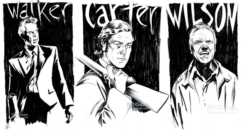 Warm-Up Sketch Triptych by mcguan