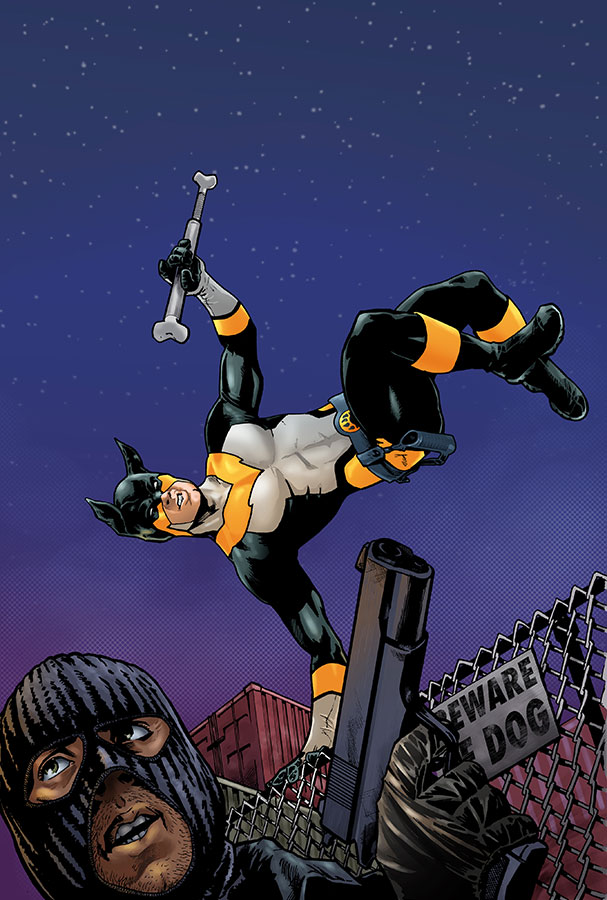 Stray #2 Variant Cover by mcguan