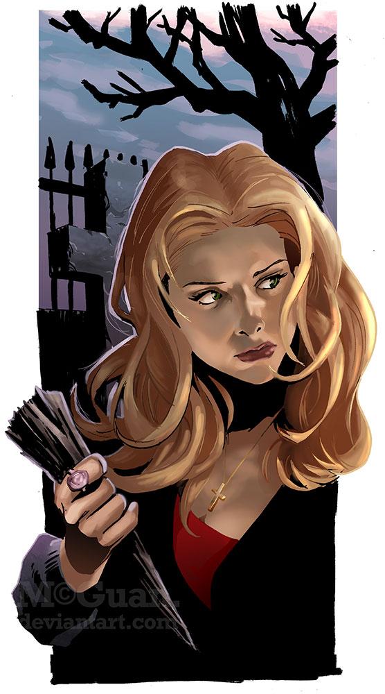 Buffy by mcguan