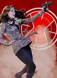 Civil War Black Widow by mcguan