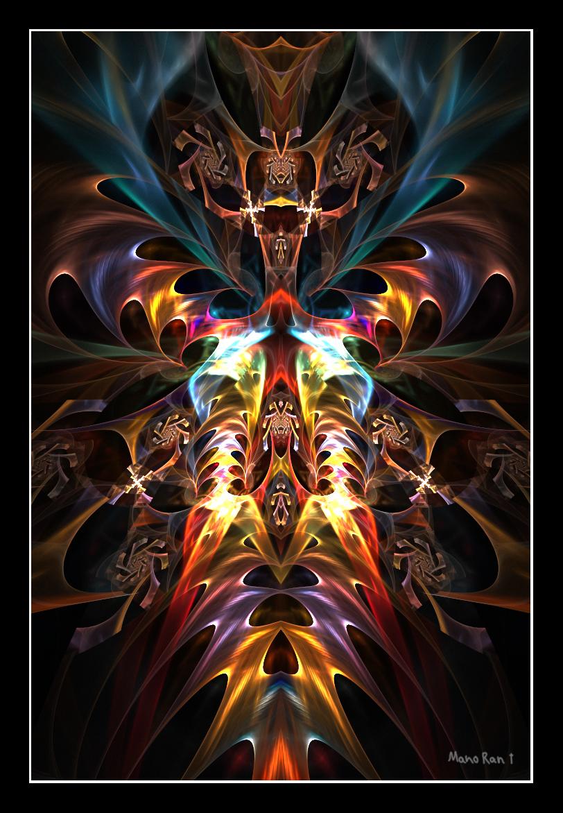 Flaming Pythia by silverb