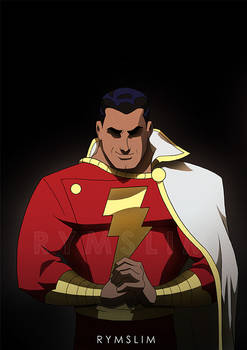 Billy Batson DCAU after Alex Ross