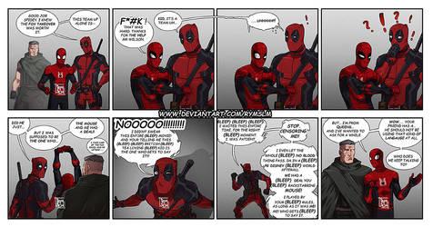 Deadpool MCU comic by rymslm