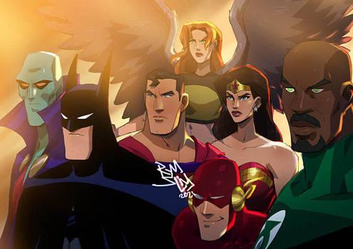 DCAU Justice League