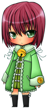 Chibi c: :COLOURED LINEART: