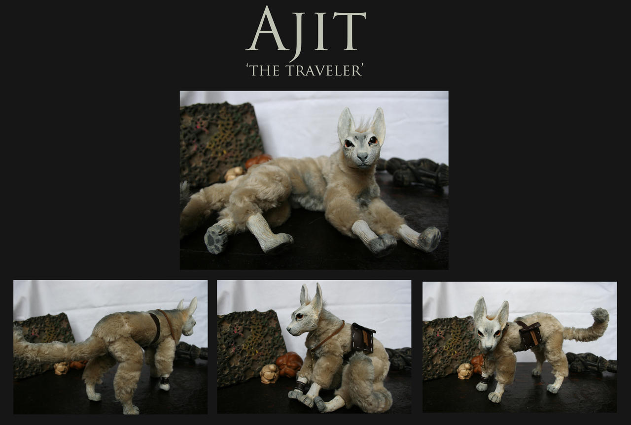 .: Ajit - Posable doll :. by Shien-Ra