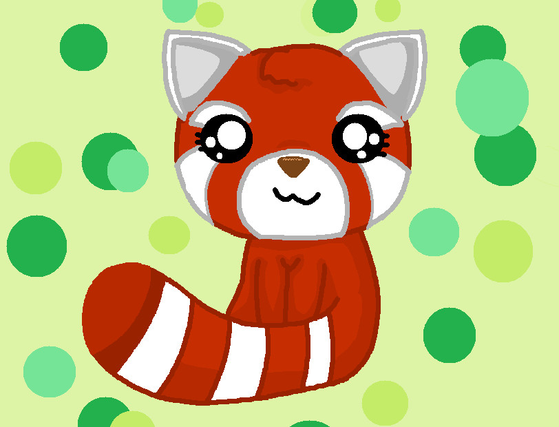 Pictures Of How To Draw A Baby Red Panda Rock Cafe