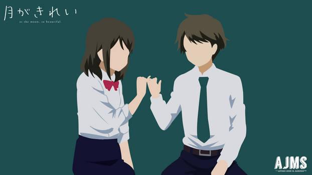 Tsuki-ga-Kirei(Akane and Azumi) by Nemesisxx25