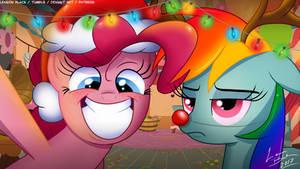 Pinkie's Hearts Warming Card