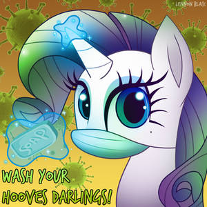 Wash Your Hooves Darlings!