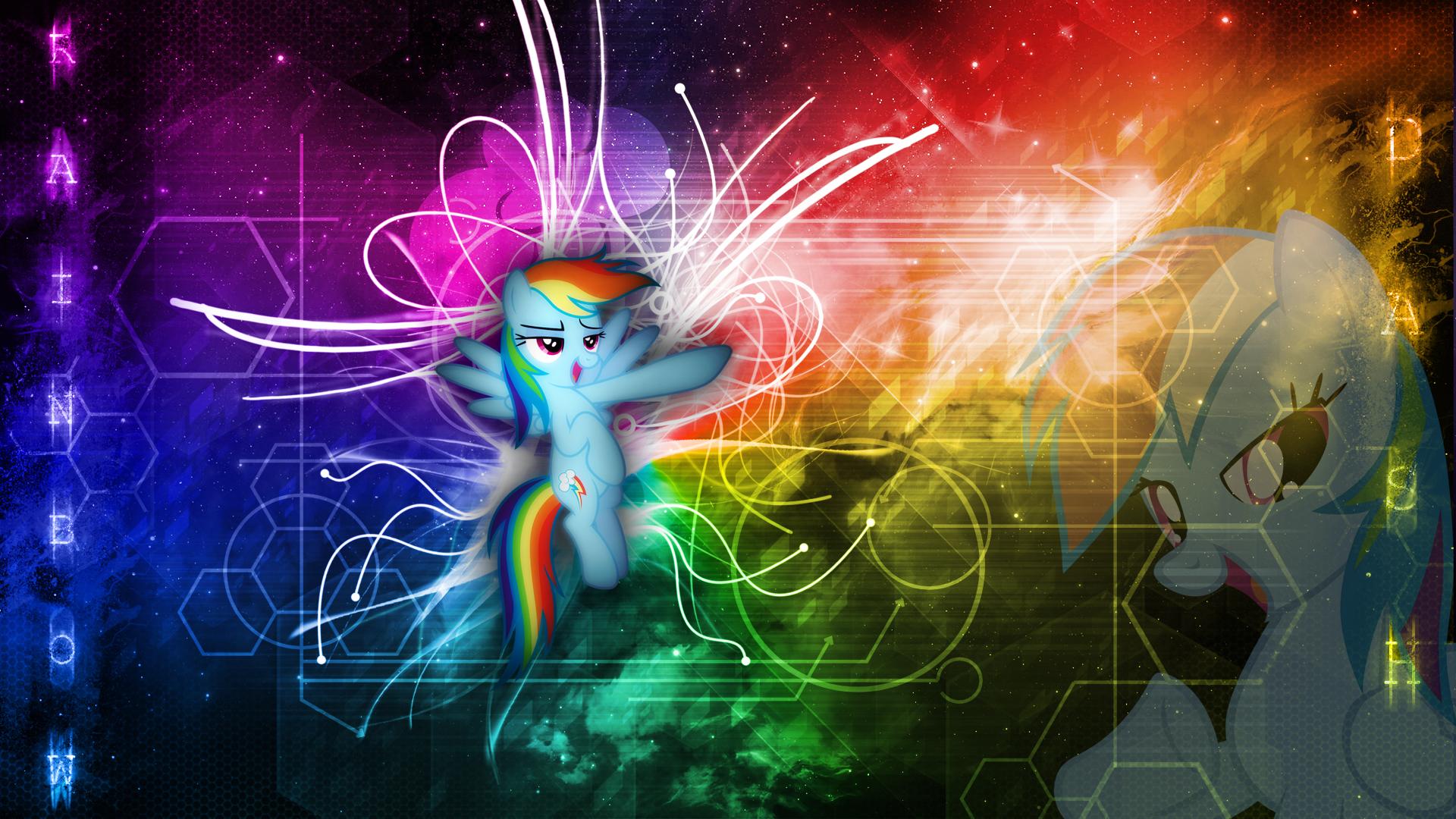 Rainbow Dash - Inspirational Wallpaper 1920x1080 by ...