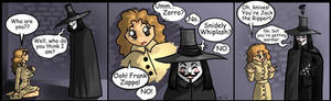 V4V comic- Who are you?