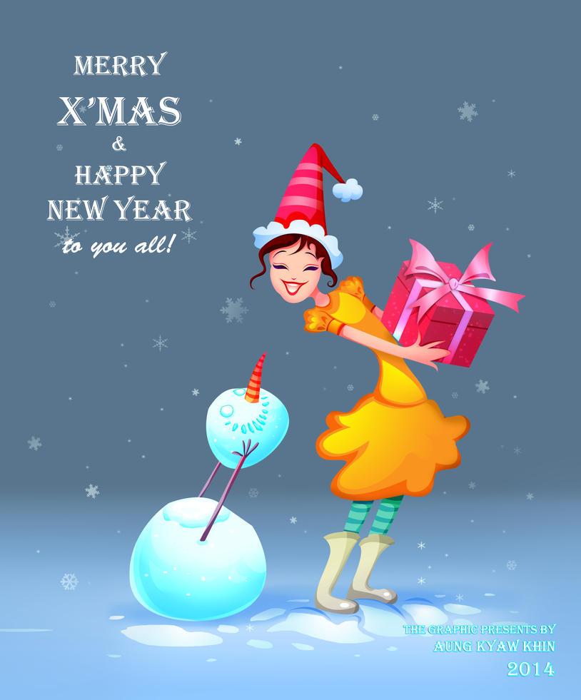 Merry Xmas by AungKyawKhin