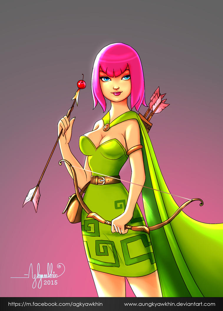 Archer ( CoC) by AungKyawKhin
