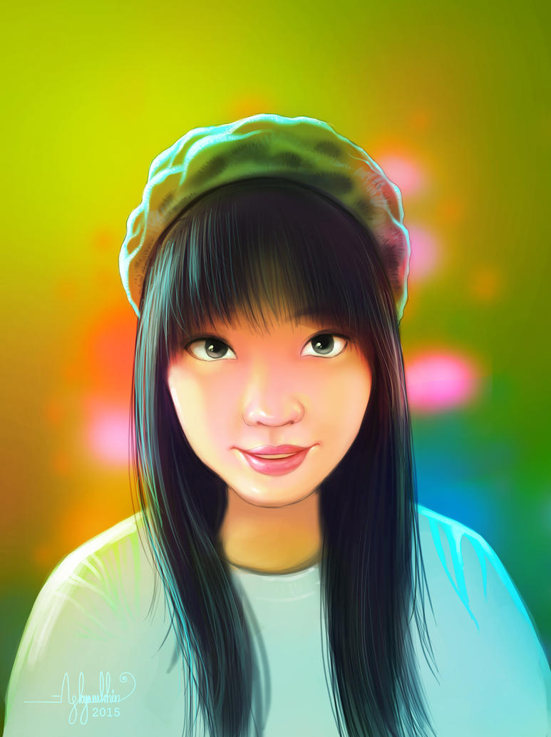 Portrait! by AungKyawKhin