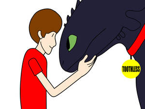 Danny And Toothless