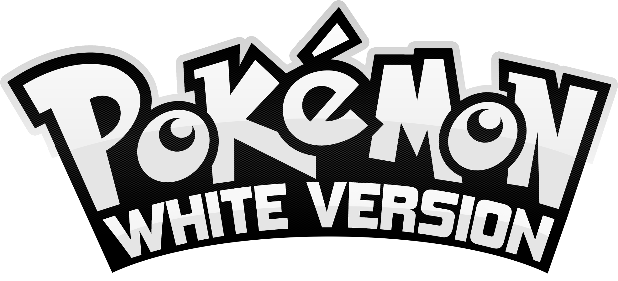 Pokemon White Version Logo 160485920