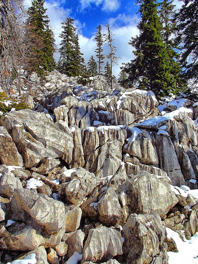 Velebit rocks by giantrider8