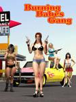 Burning Babes Gang Cover