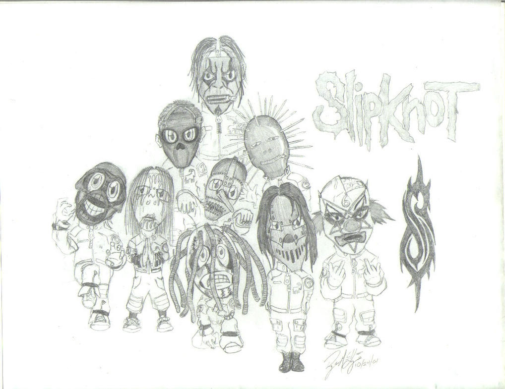 Slipknot Cartoon By Pictures