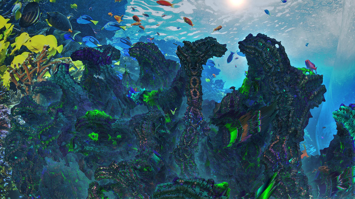 Toxic Barrel Reef by TABASCO-RAREMASTER