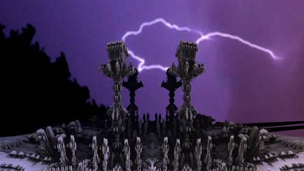 Mysterious lightning by TABASCO-RAREMASTER